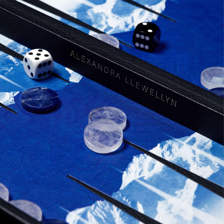 Alexandra Llewellyn Backgammon Boards Glacier 6