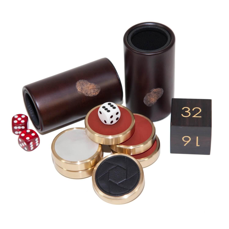 Alexandra Llewellyn Goddesses Backgammon Playing Pieces