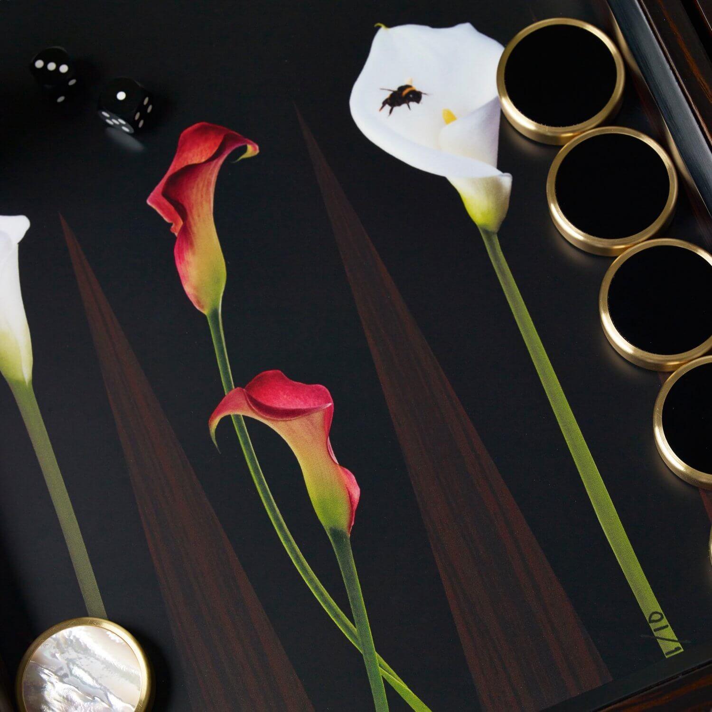 Alexandra Llewellyn Lily Backgammon Set Detail
