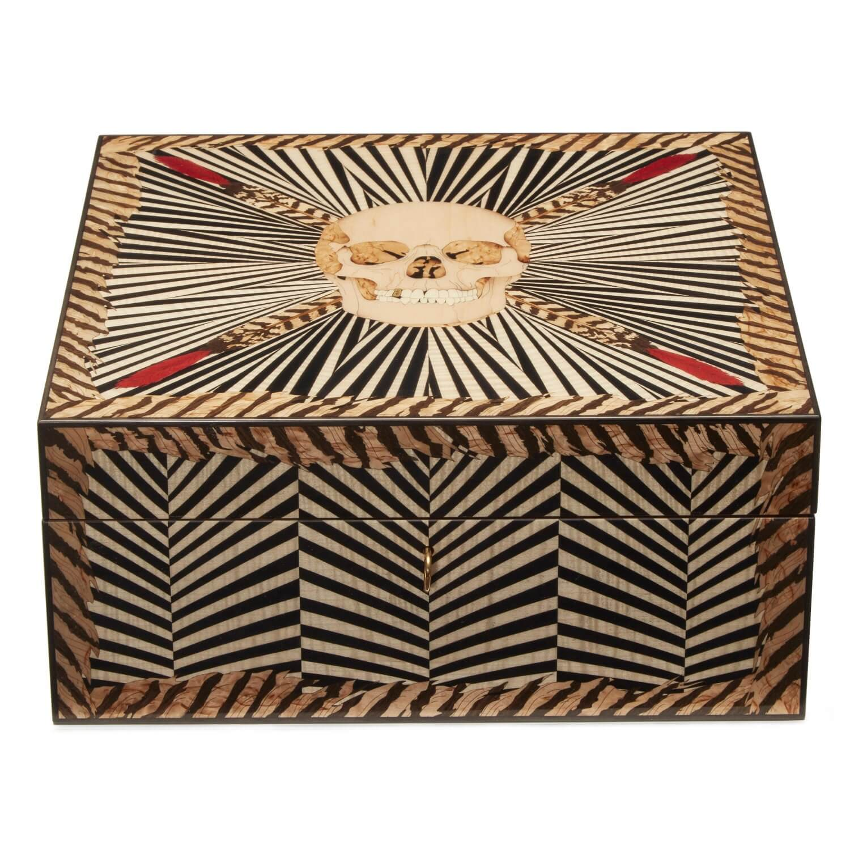 Alexandra Llewellyn Skull Poker Box