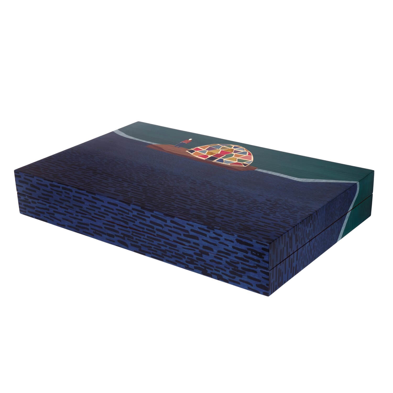 Alexandra Llewellyn Tom Hammick Backgammon Set