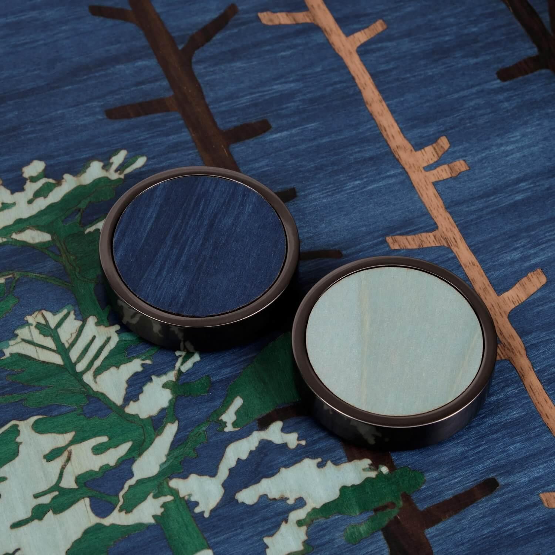 Alexandra Llewellyn Tom Hammick Backgammon Set Detail