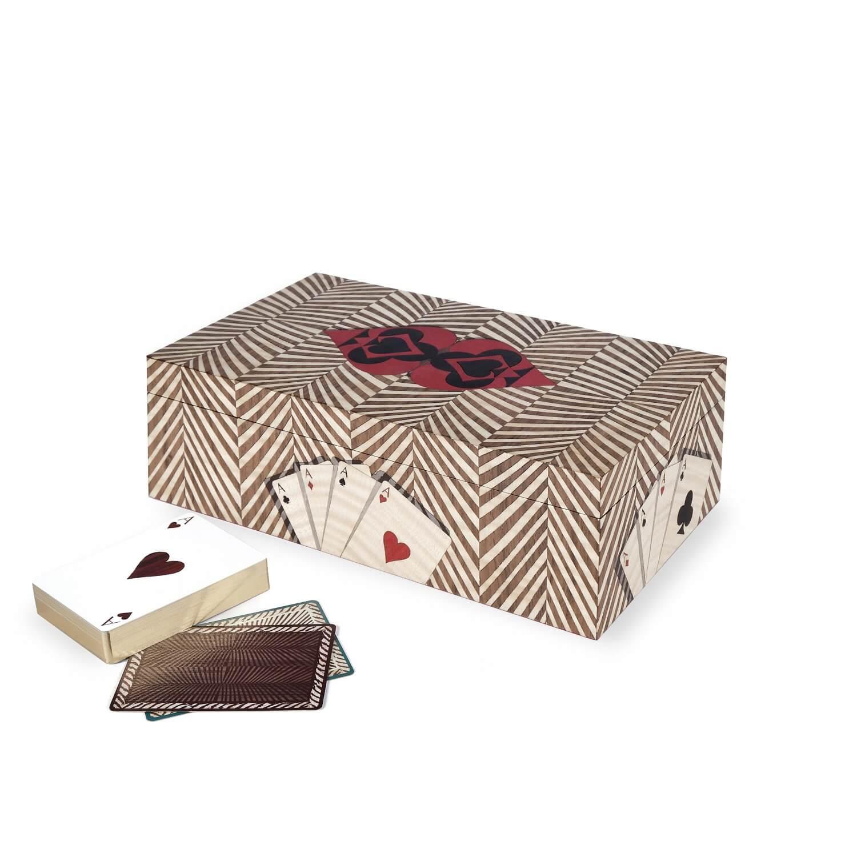 Alexandra Llewellyn Wallnut Card Box