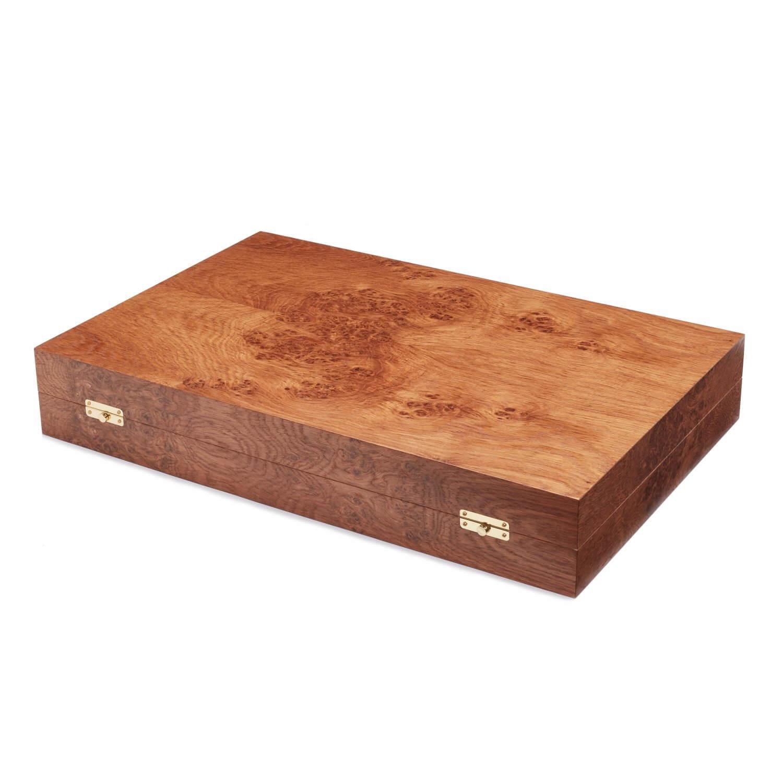 Alexandra Llewellyn B&W Butterfly Backgammon Set