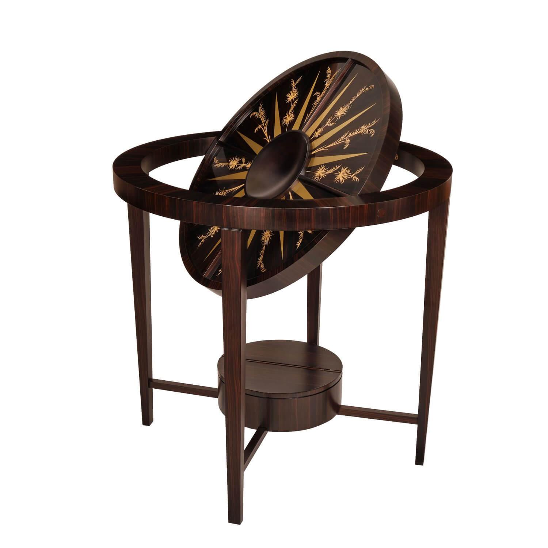 Alexandra Llewellyn Circular Palm Games table