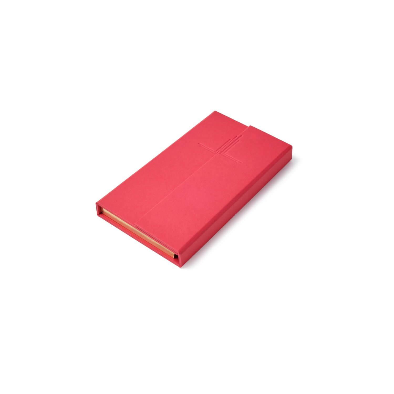 Alexandra llewellyn Red Notepad
