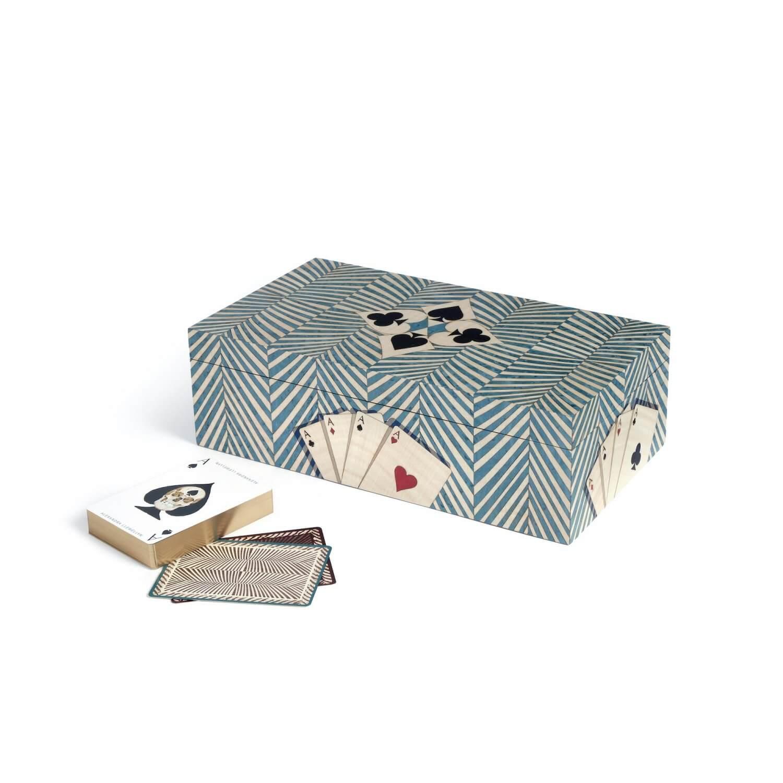 Alexandra Llewellyn Turquoise Card Box