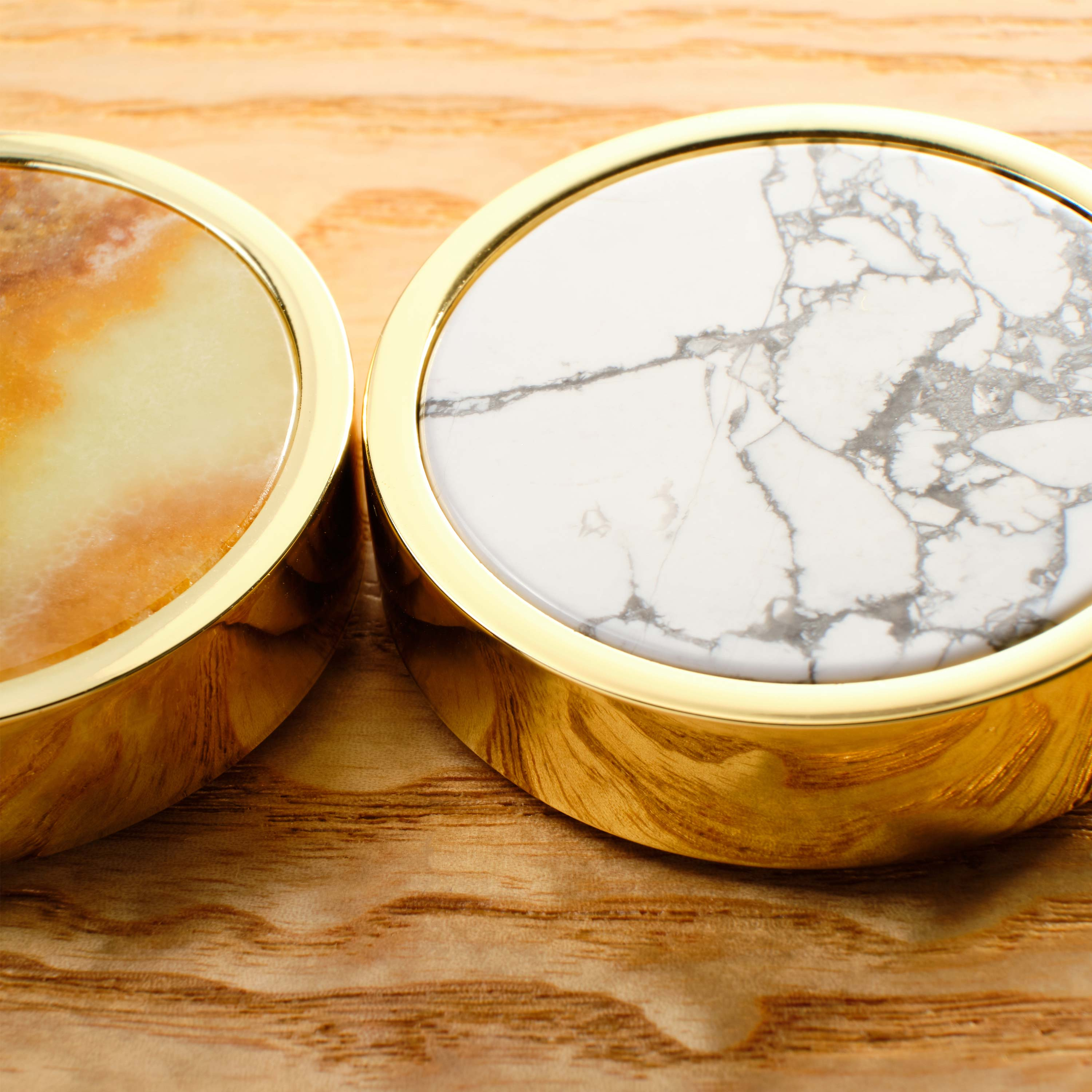 a white marble playing piece