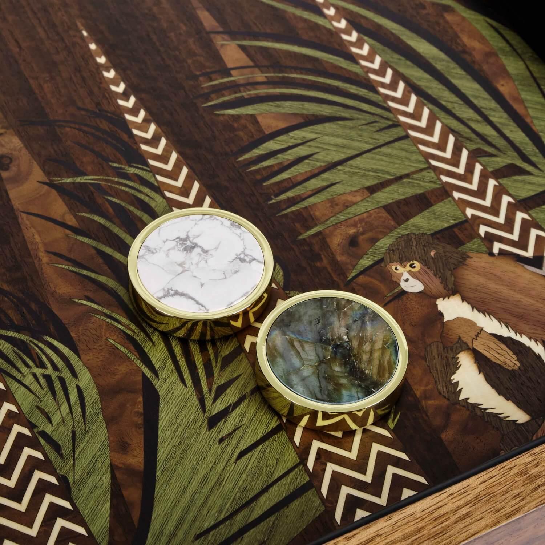 Alexandra Llewellyn Jungle Backgammon Detail 05