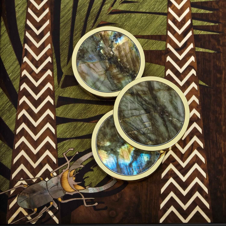 Alexandra Llewellyn Jungle Backgammon Detail 09