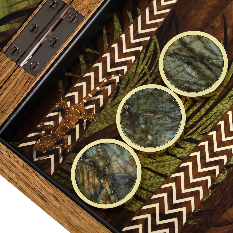 Alexandra Llewellyn Jungle Backgammon Detail 24