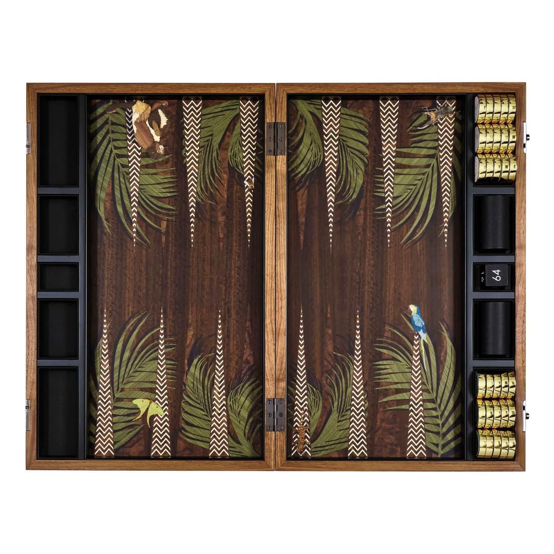 Alexandra Llewellyn Jungle Backgammon Set Open 03