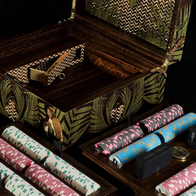 Alexandra Llewellyn Jungle Poker Box Detail 01